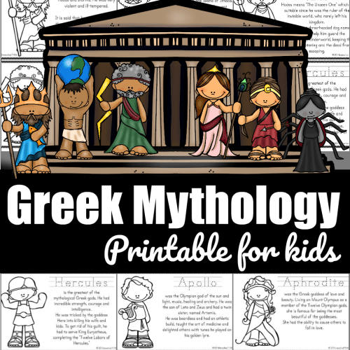small resolution of FREE Greek Mythology for Kids Printable Book
