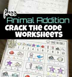 Math Crack the Code Worksheets [ 2309 x 1524 Pixel ]