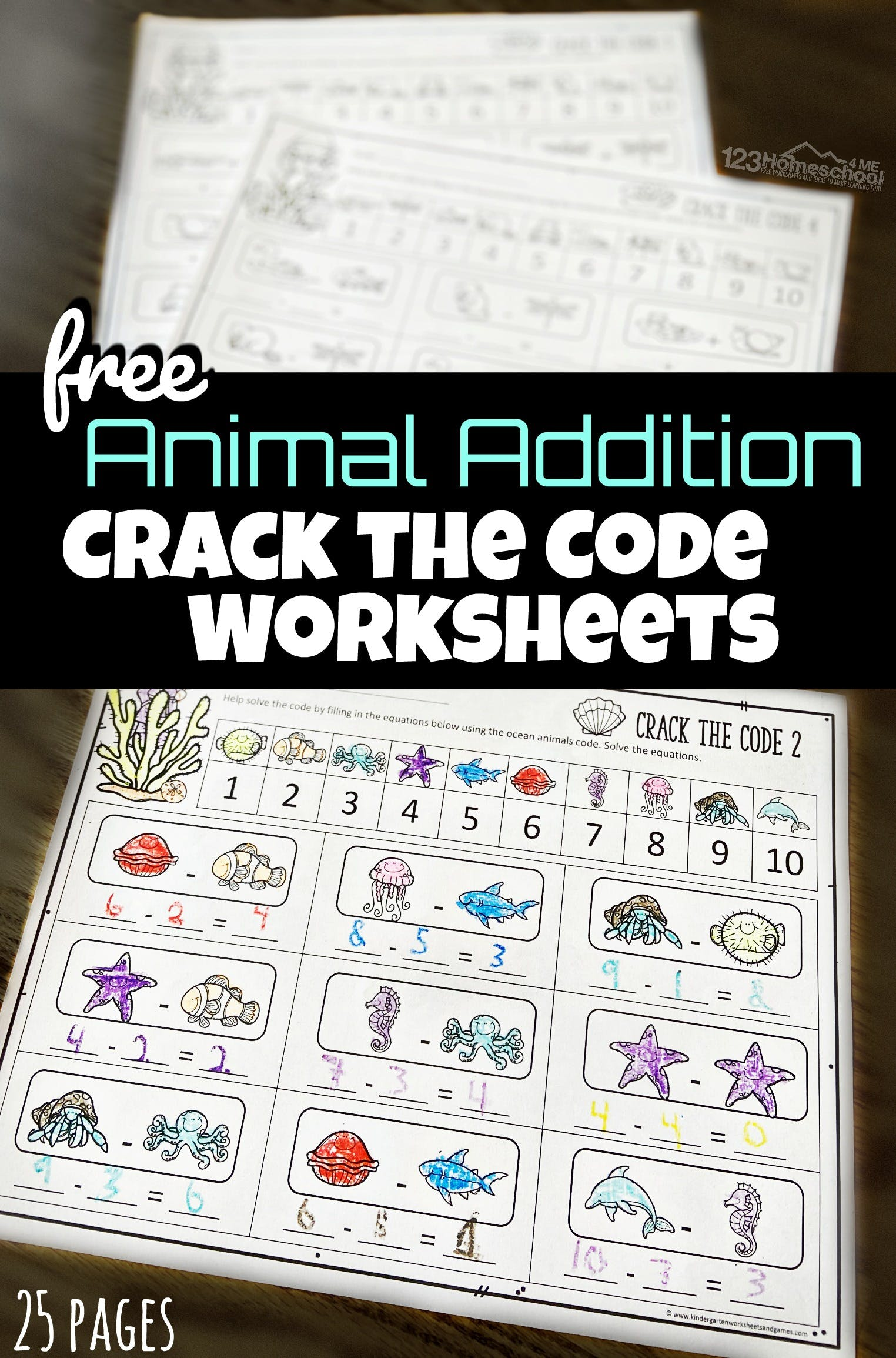 hight resolution of Math Crack the Code Worksheets