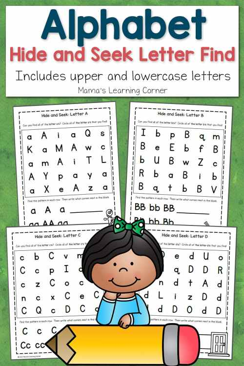 small resolution of ABC Hide and Seek Letter Find for Preschoolers - Mamas Learning Corner