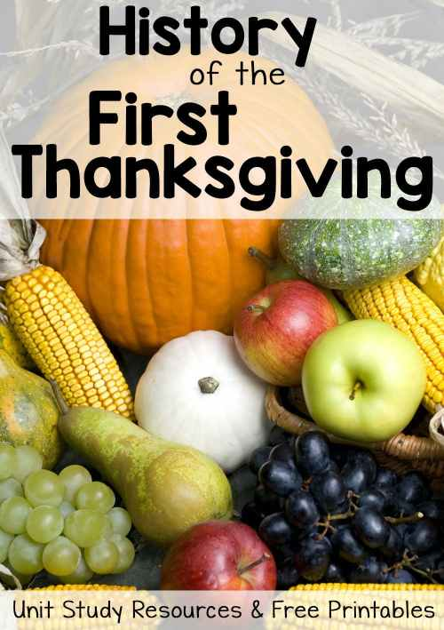 small resolution of History of Thanksgiving Worksheets and Unit Study Resources - Mamas  Learning Corner