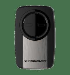 clicker universal silver garage door remote klik3u ss chamberlain [ 1240 x 1240 Pixel ]