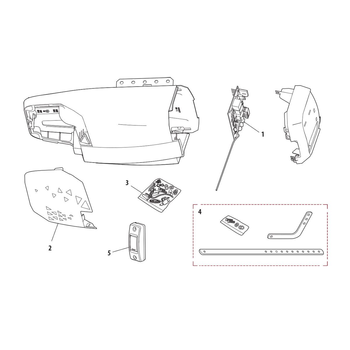 Chamberlain Pd220 Replacement Parts