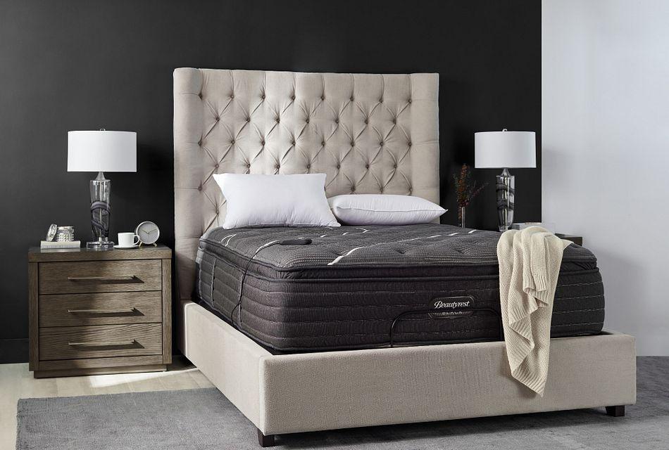 beautyrest black c class plush pillowtop 16 pillow top mattress