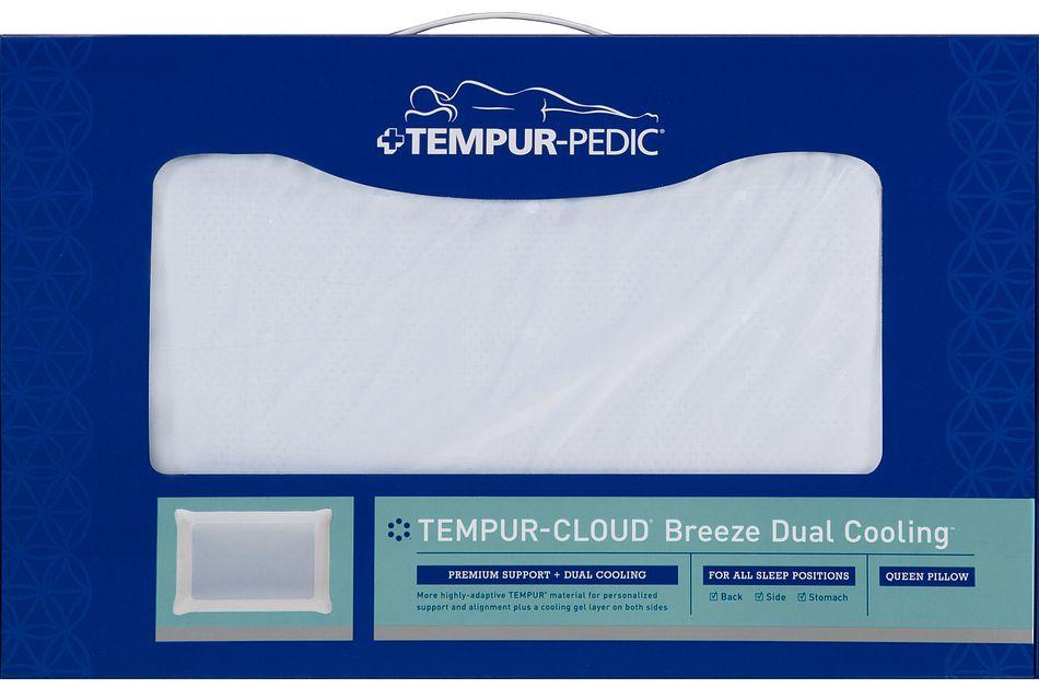 tempur cloud breeze dual cooling tempur pillow