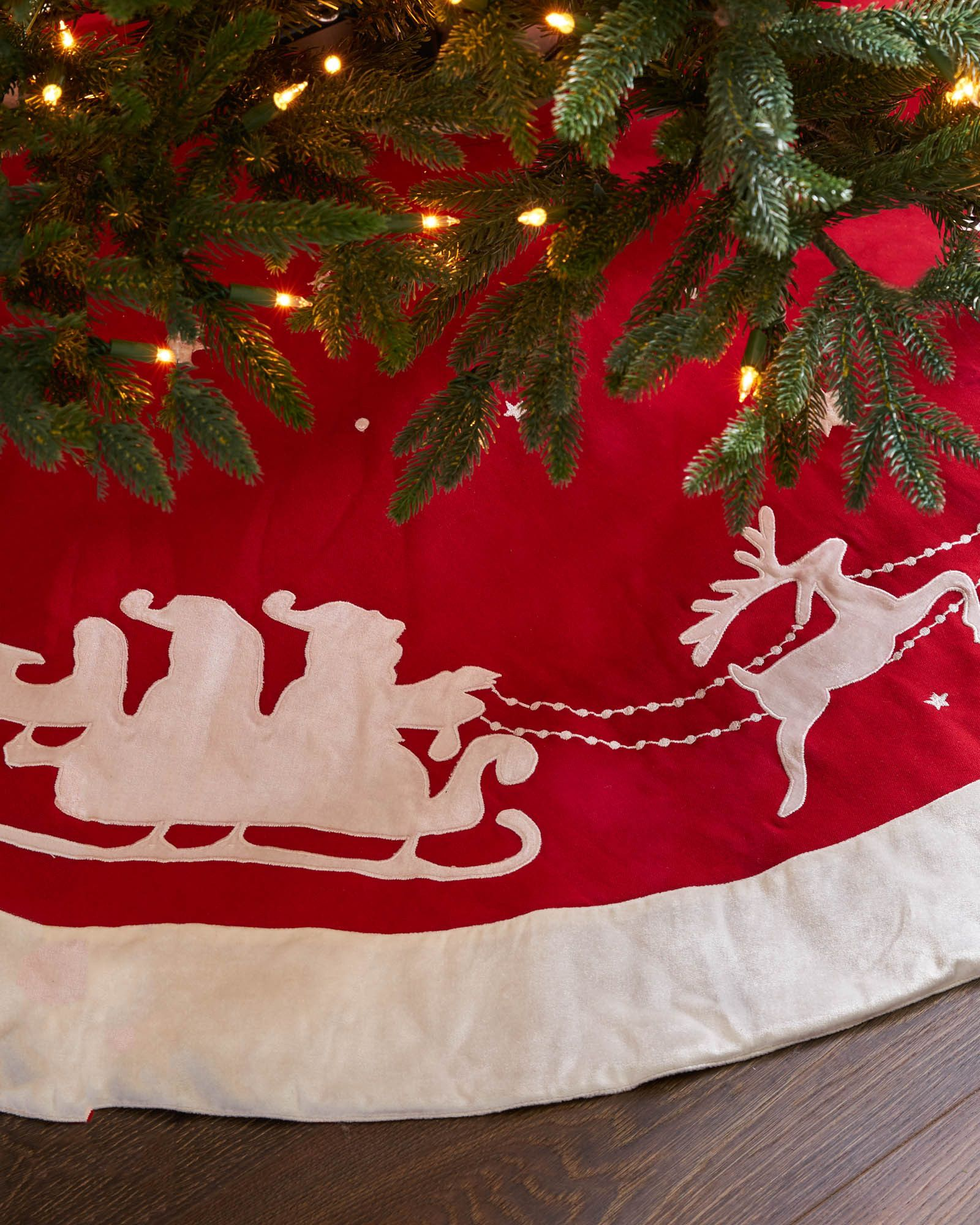 Balsam Hill Christmas Tree Skirts