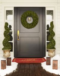 Outdoor LED Boxwood Topiary