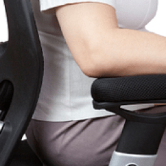 Posture Promoting Chair Covers For Lazy Boy Recliners Ten Tips Improving And Ergonomics Image Of Person Sitting In Ergonomic Office