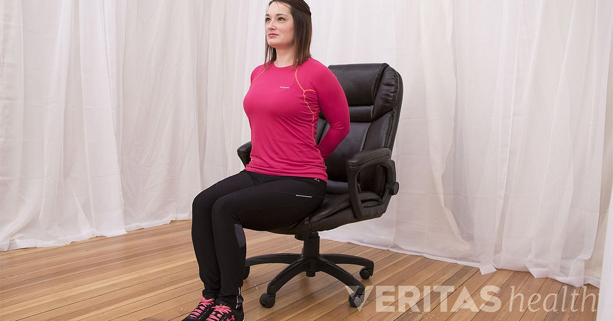 Video Reverse Arch Stretch Office Chair Stretch for