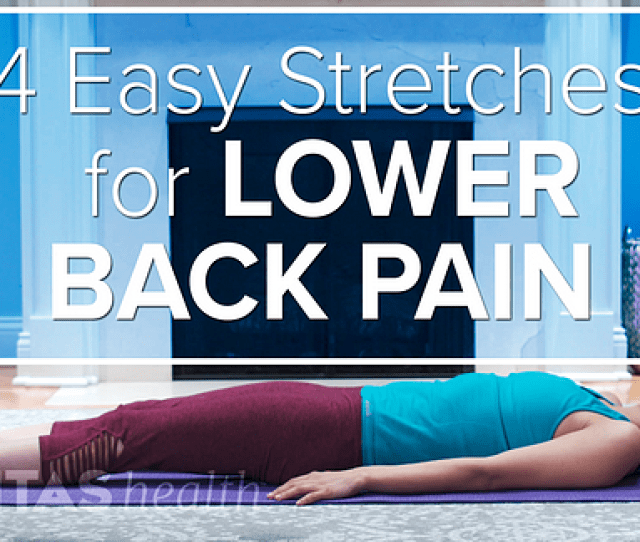 Low Back Stretching Exercises