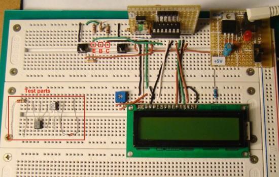 Mosfet Tester Circuit Diagram