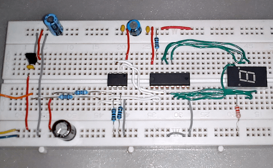 Logic Probe Electronic Circuit Diagram
