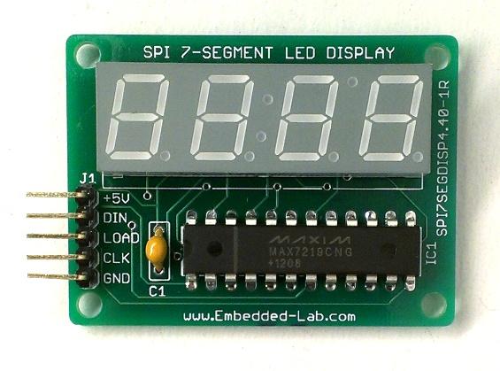 7 Segment Display Driver Ic