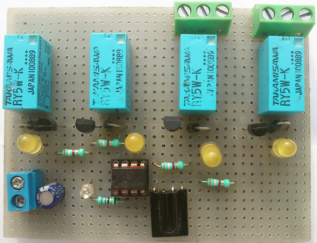 Tv Remote Control Circuit Diagram Using Sl490