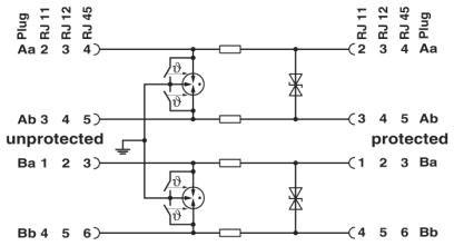 DT-TELE-SHDSL Surge Protector (DSL Modem Surge Protector