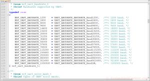 UART/UARTE tutorial nRF5 SDK SES