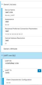 Nordic UART GATT Server Tutorial