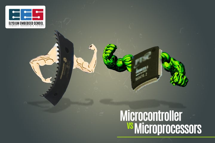 Microcontroller And Microprocessor Difference