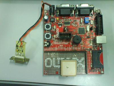 LPC2148 controlled GPS car speed and position logger - Embedds