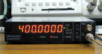 avr based universal frequency counter