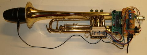 It's Show Time with This Trumpet MIDI Controller! - Embedds