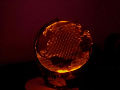POV Globe that Based on Arduino and 72 SMD LEDs - Embedds