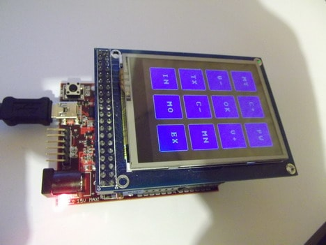 Porting ITDB02 LCD shield library to ChipKIT