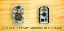 Arduino compatible ARM based Wi-Fi development board
