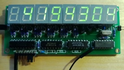 MSP430 frequency counter