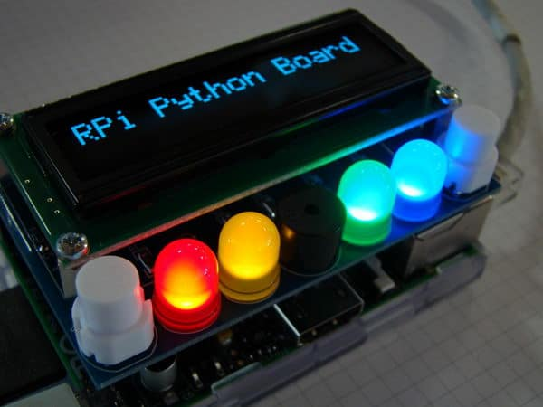 RPi board for learning Python