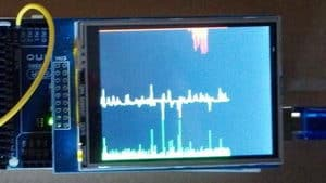 Displaying analog signals on TFT LCD display with Arduino