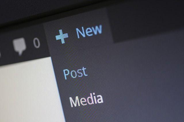 blogging new post