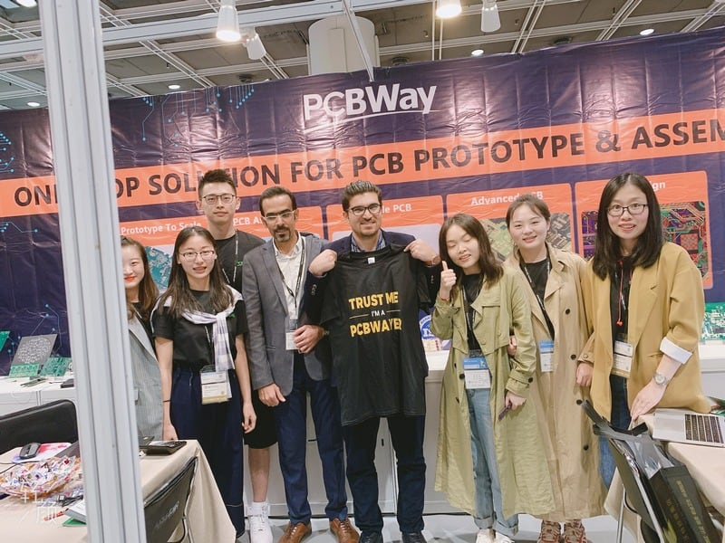 PCBWay Electronics Fair 2019