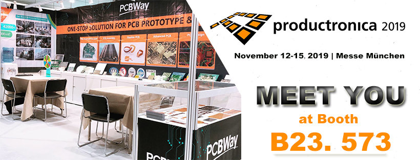 PCBWay productronica 2019