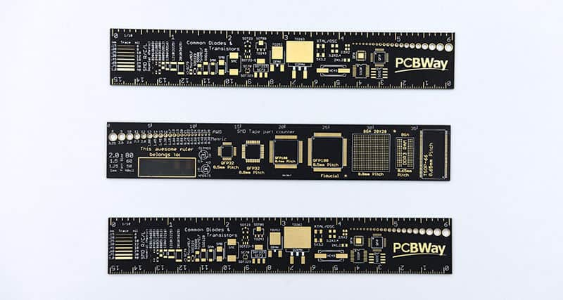 PCBWay ruller
