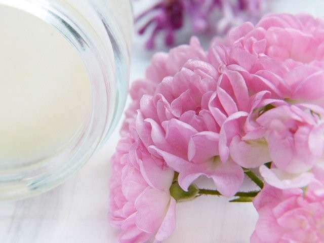 body cream with fragrance