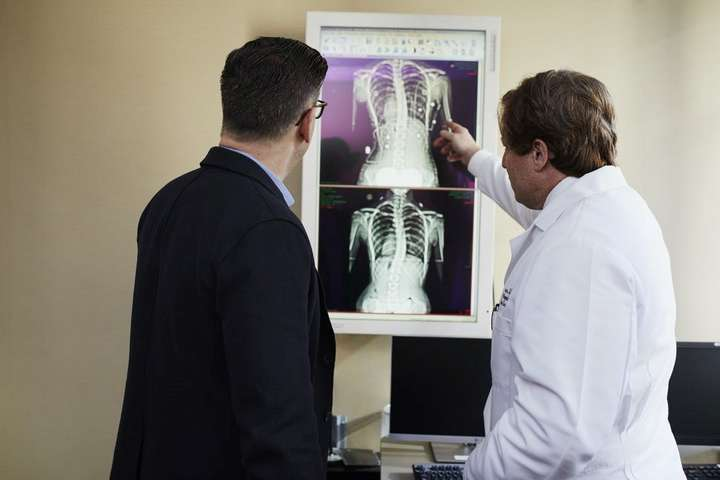 medical examination of xray images