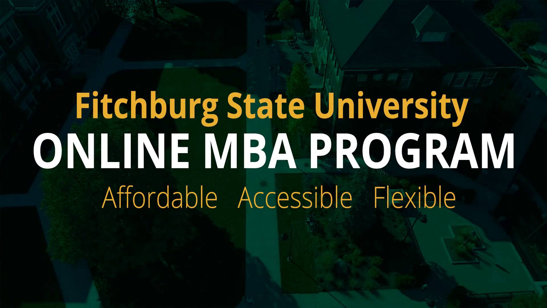 Online MBA in Management - Fitchburg State University