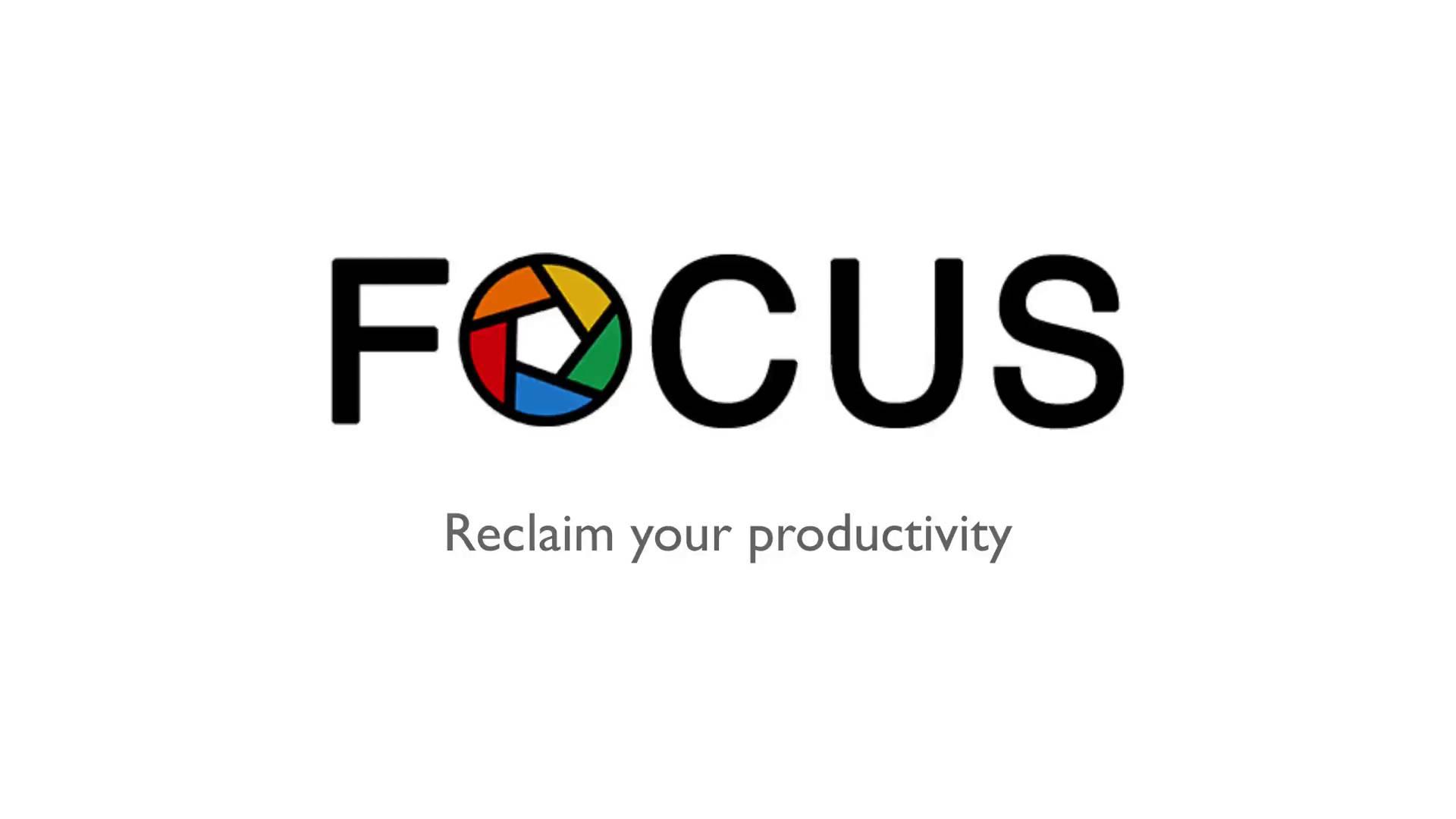 Focus for Mac 1.8.13 破解版 - 优秀的集中精力效率工具