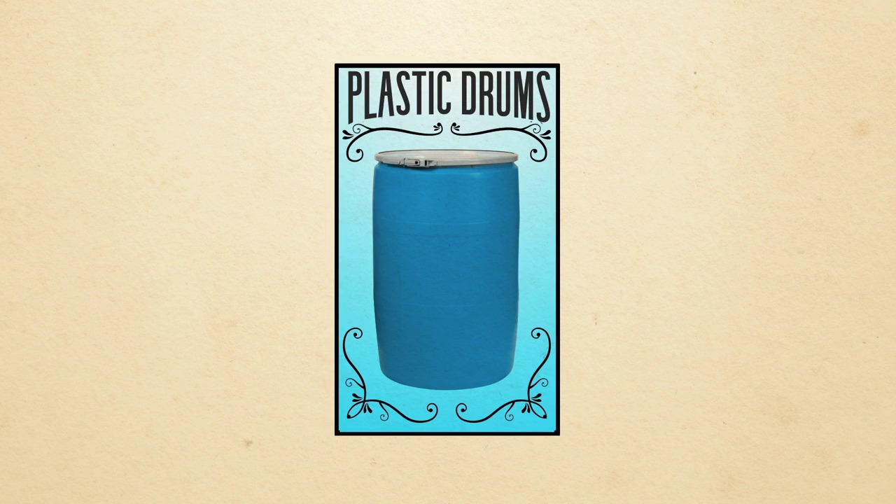 Video thumbnail also plastic drums open  tight head rh thecarycompany