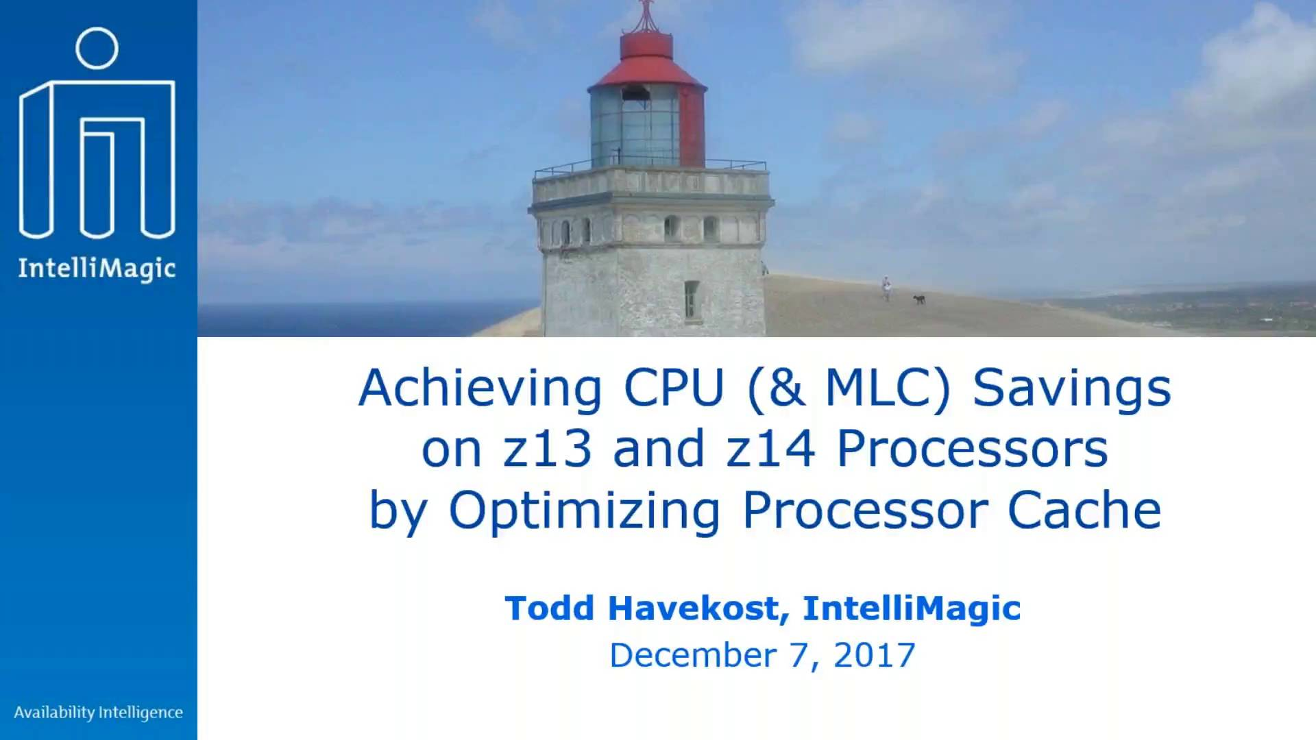 video thumbnail also achieving cpu  mlc savings on  and  processors by rh intellimagic