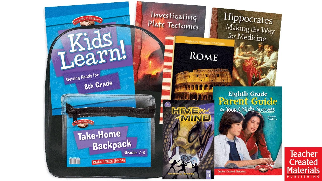 hight resolution of Take-Home Backpacks   Teacher Created Materials