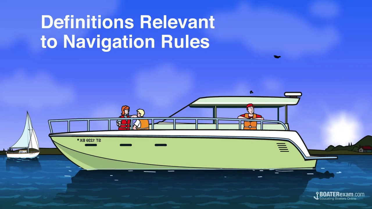 now that we know where the bow stern port and starboard are located let s learn some more important boating terms  [ 1280 x 720 Pixel ]