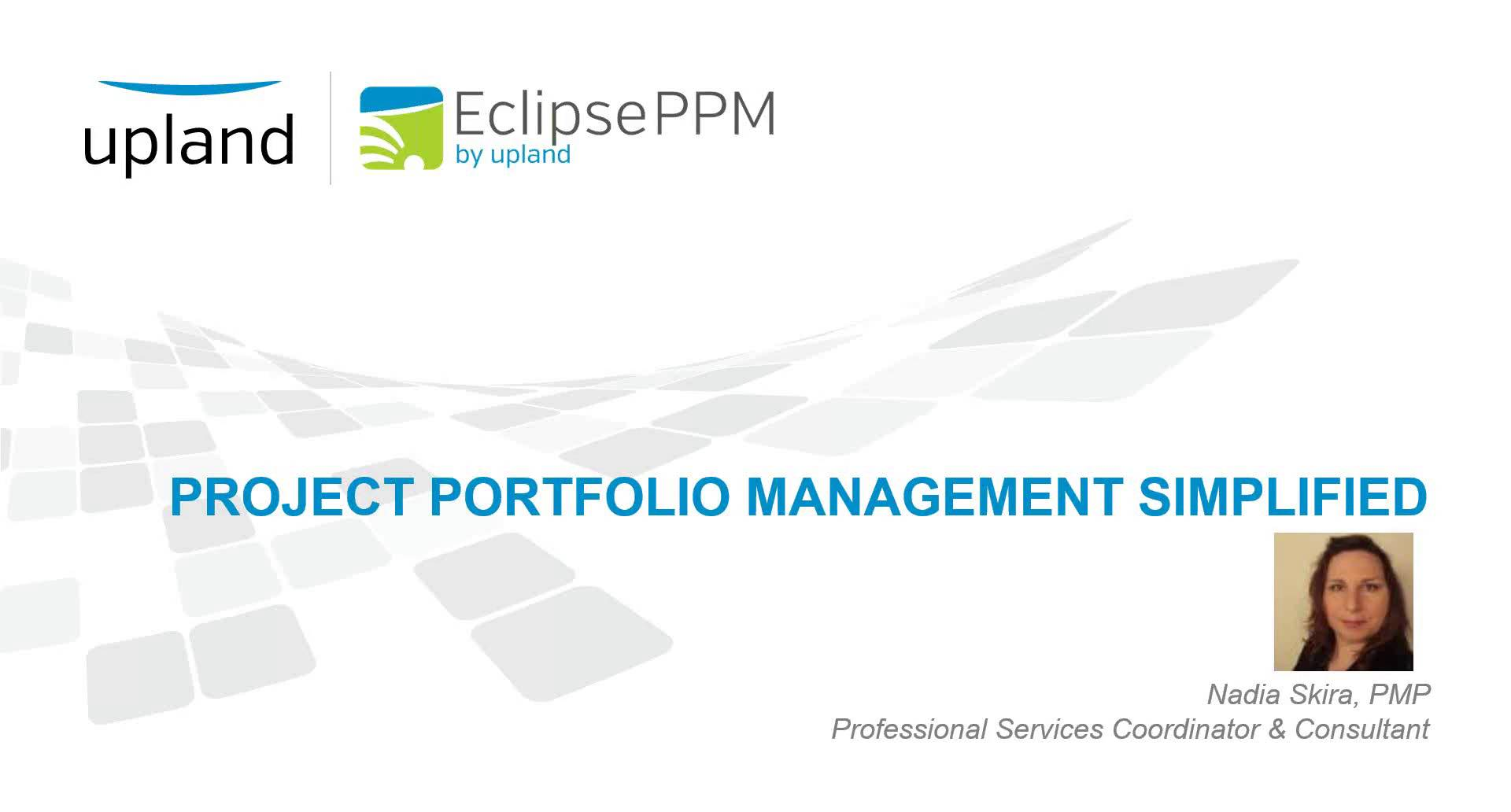 project portfolio management simplified webinar [ 1280 x 688 Pixel ]