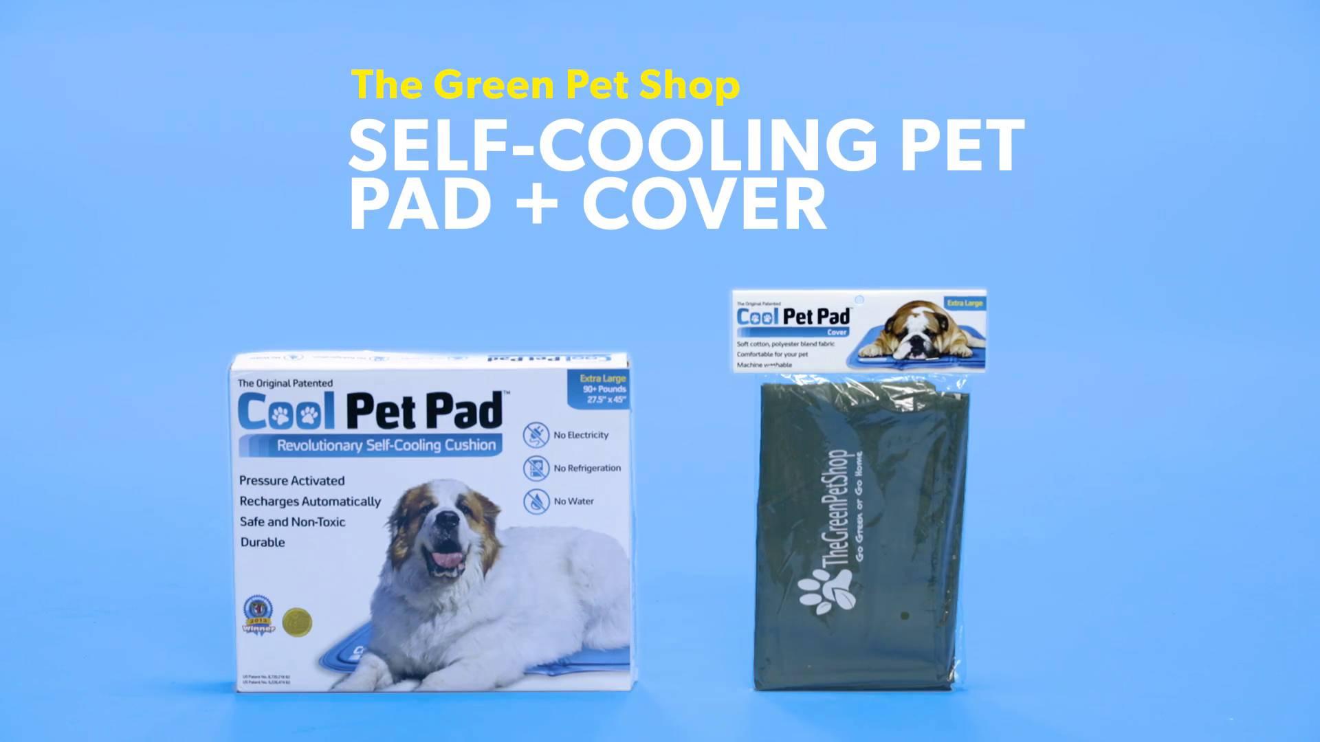 the green pet shop self cooling dog pad