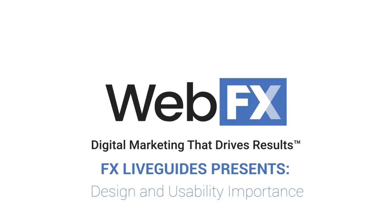 Use of web designing