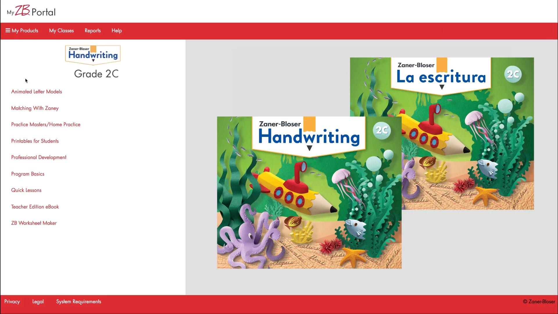 Zaner-Bloser Handwriting © 2020   Teach All Students to Shine [ 1080 x 1920 Pixel ]