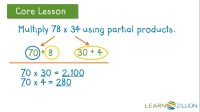 Partial Products Worksheets Fourth Grade. Partial. Best ...