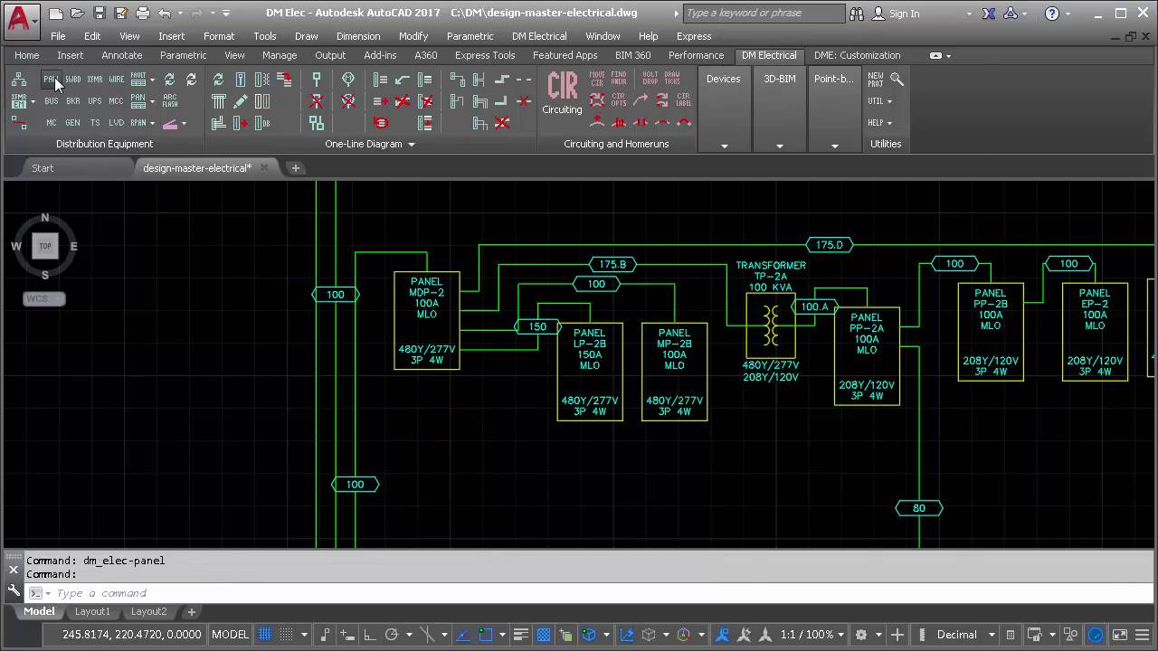 electrical for autocad design master software computer aided drawings cad single line diagrams riser diagrams wiring [ 1280 x 720 Pixel ]