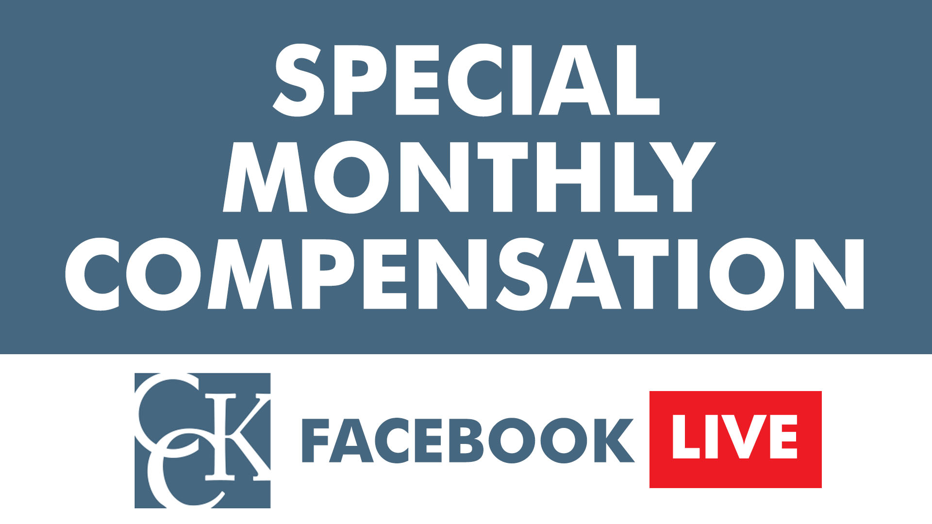 Video thumbnail also special monthly compensation explained cck law rh